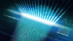 Virtual panel with fingerprint