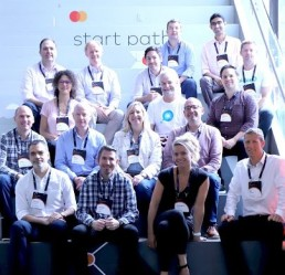 Group of entrants in the Mastercard start path, network of innovators