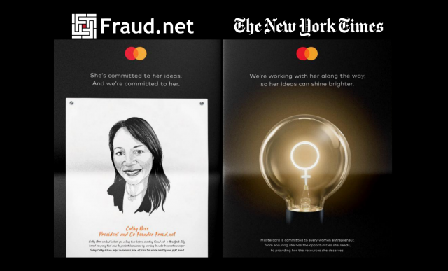 MasterCard New York Times Ad