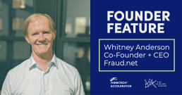 Whitney Anderson, fraud prevention CEO