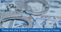 most common financial crimes