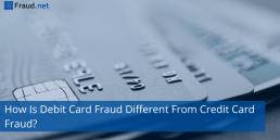 debit and credit card fraud